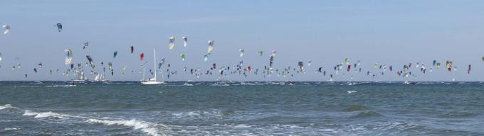 wassersport kitesurfen